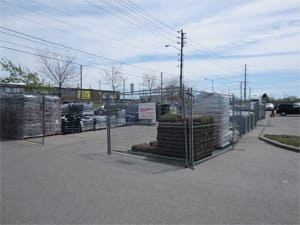 Temporary fence panel rentals and sales for weddings and festivals