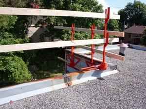 Rapidguard fall protection system