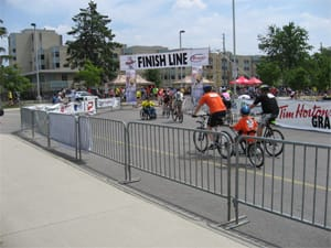 Pedestrian barriers for special events
