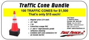 Traffic safety traffic cone sale