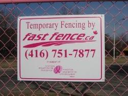 Perimeter Pink signage