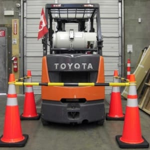 Traffic cones and connectors