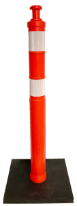 Traffic safety delineator posts