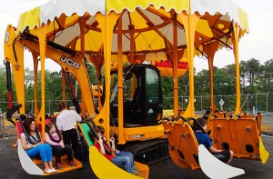 Diggerland attraction