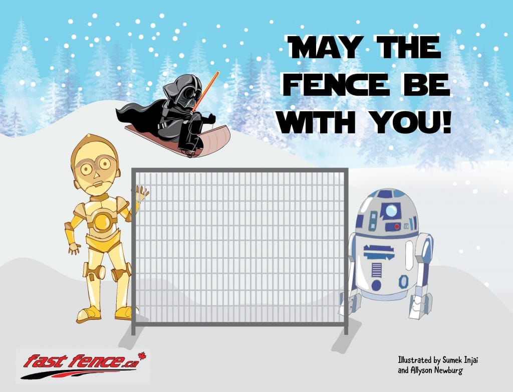 May the fence be with you