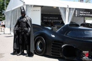 Batman at event