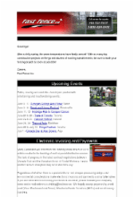 Fast Fence e-newsletter new format
