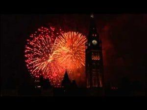 Parliament Hill fireworks