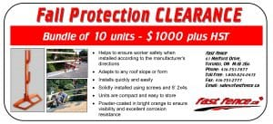 Fall protection units sale