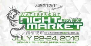T&T Waterfront Night Market temporary event fence