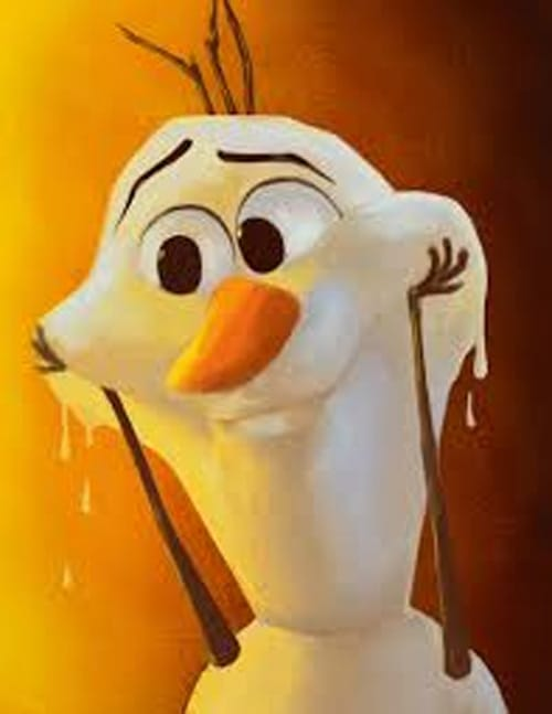 Olaf Melting Fast Fence Inc