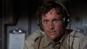 Airplane movie sweat