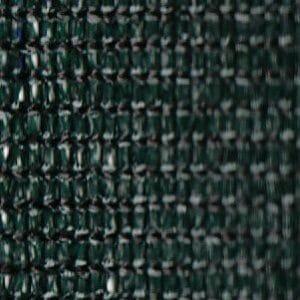 Green fence screening