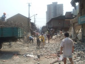 Shanghai construction site