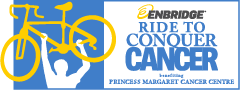 Temporary fence for special events ride to conquer cancer