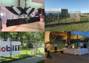 Temporary fence creative ideas for special events
