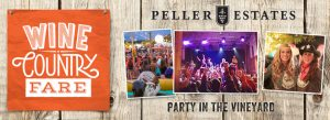 Temporary fence for special events peller party